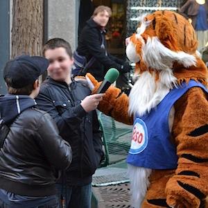 ESSO TIGER ToonWalk Nürnberg 01-02-14 walkact event promotion 3 © TIGER-OFFICE.NET