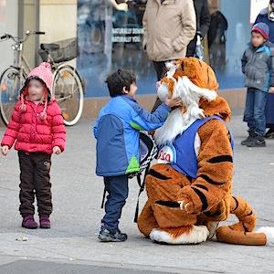 ESSO TIGER ToonWalk Nürnberg 01-02-14 walkact event promotion 4 © TIGER-OFFICE.NET