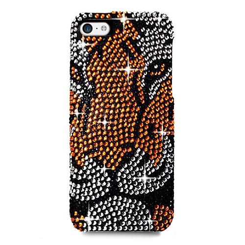 TIGER smartphone 5 5S diamonds fake Hülle