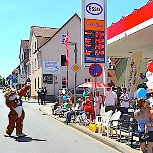 ESSO Station Hofgeismar Strassenfest Festzug Hessentag 2015 07-06-15 1 © TIGER-OFFICE.NET