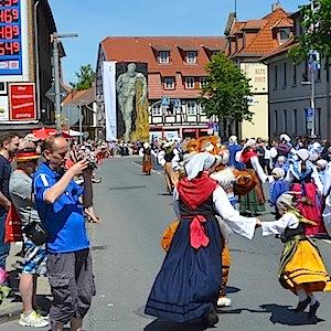 ESSO Station Hofgeismar Strassenfest Festzug Hessentag 2015 07-06-15 17 © TIGER-OFFICE.NET