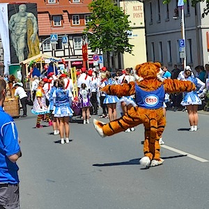 ESSO Station Hofgeismar Strassenfest Festzug Hessentag 2015 07-06-15 19 © TIGER-OFFICE.NET