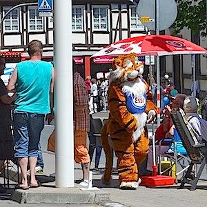 ESSO Station Hofgeismar Strassenfest Festzug Hessentag 2015 07-06-15 5 © TIGER-OFFICE.NET